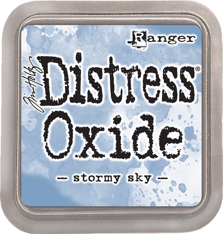 Tim Holtz Distress Oxides Ink Pad Stormy Sky