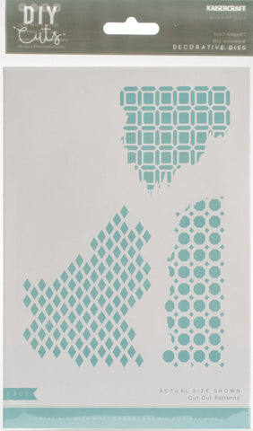 Kaisercraft Decorative Die Cut Out Patterns 2in To 3.75in