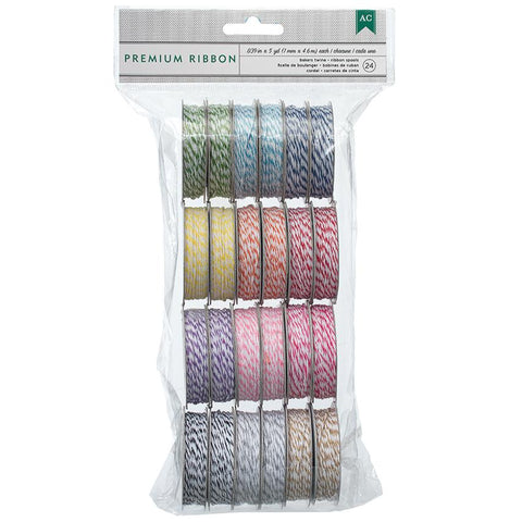 Baker's Twine Value Pack Bright 5yds Spools 24pk