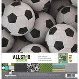 Paper House Paper Crafting Kit Soccer 12inX12in