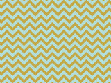 Kaisercraft Metallic D-Ring Album Chevron Mint 12inX12in