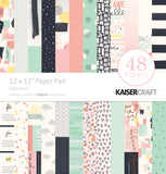 Kaisercraft Paper Pad Daydreamer 12inX12in 48pk