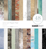 Kaisercraft Paper Pad Basecoat 12inX12in 48pk