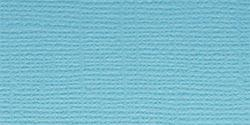 Bazzill Fourz Cardstock Vibrant Blue Grass Cloth 12inX12in