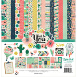 Echo Park Paper Just Be You Collection Kit 12inx12in