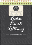 Kelly Creates Large Brush Lettering Workbook 8.5inX12.3in 138pk