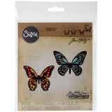 Sizzix Thinlits Dies By Tim Holtz Mini Detailed Butterflies 4pk