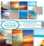 Reminisce Collection Kit At The Beach 12inX12in