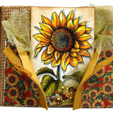 Stampendous Cling Stamp Sweet Sunflower 4.75inX4.5in