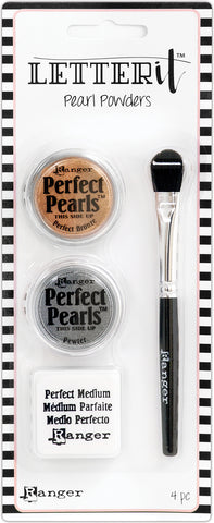 Ranger Letter It Pearls Powder Set No1