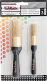 Vicki Boutin Mixed Media Stencil Brush Set All The Good Things