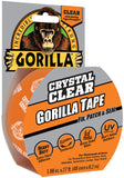 Gorilla Crystal Clear Tape Clear 1.88inX27ft