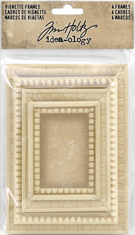 Idea-Ology Vignette Frames Assorted Sizes 4pk