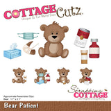 CottageCutz Die Bear Patient 1.7inX2.1in