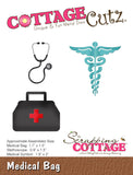 CottageCutz Die Medical Bag .9in To 2in