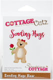 CottageCutz Die Sending Hugs Bear 1in To 3.5in