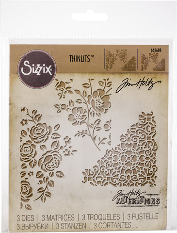 Sizzix Thinlits Dies By Tim Holtz Mixed Media #5