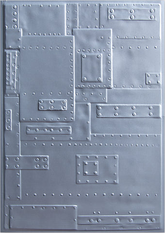 Sizzix 3D Texture Fades Embossing Folder By Tim Holtz Foundry