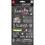Glitter Stickers Value Pack Chalk Family