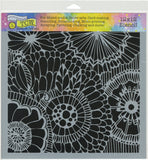 Crafter's Workshop Template Botanical Dream 12inX12in