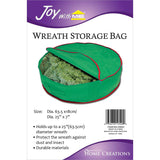 Wreath Storage Bag 25inX7in