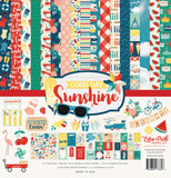 Echo Park Collection Kit Good Day Sunshine 12inX12in
