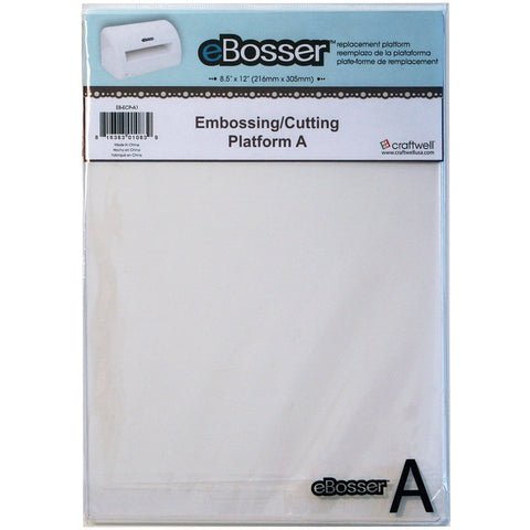 eBosser Embossing Cutting Platform A 8.5inX12in