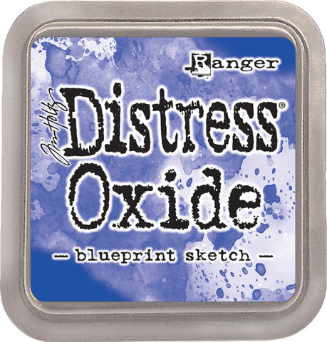 Tim Holtz Distress Oxides Ink Pad Blueprint Sketch