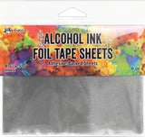 Tim Holtz Alcohol Ink Foil Tape Sheets 4.25inX5.5in