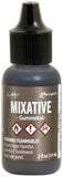 Tim Holtz Alcohol Ink Metallic Mixatives Gunmetal
