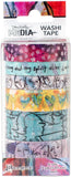 Dina Wakley Media Washi Tape No1 6 Rolls