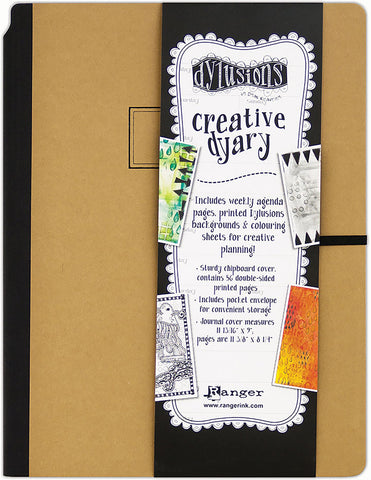 Dyan Reaveley's Dylusions Creative Dyary Large
