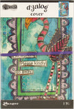 Dyan Reaveley's Dylusions Dyalog Canvas Printed Cover Frame 5inX8in