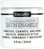 Americana Decor Satin Enamels Pure White 8oz
