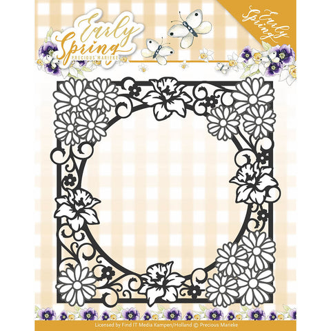 Find It Trading Precious Marieke Early Spring Die Spring Flowers Square Frame