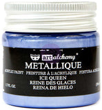 Finnabair Art Alchemy Acrylic Paint Metallique Ice Queen 1.7fl oz