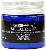 Finnabair Art Alchemy Acrylic Paint Metallique Royal Blue 1.7fl oz