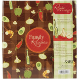 MBI Family Recipes 3-Ring Album Kit Recipe Cards 5inx7in