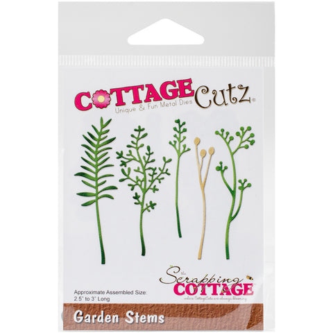 CottageCutz Die Garden Stems 2.5in To 3in