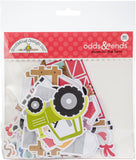 Doodlebug Odds and Ends Die-Cuts Down On The Farm 90pk