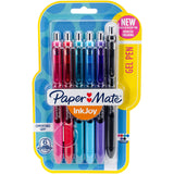 InkJoy Gel Pens .7mm 6/Pkg - Assorted