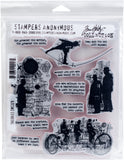 Tim Holtz Cling Stamps Theories 7inX8.5in