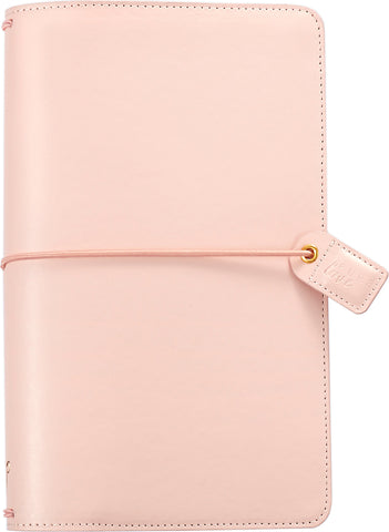 Color Crush Faux Leather Traveler's Planner Blush Pink 5.75inX8in
