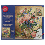 Paint Works Paint By Number Kit Peony Floral 16inX20in