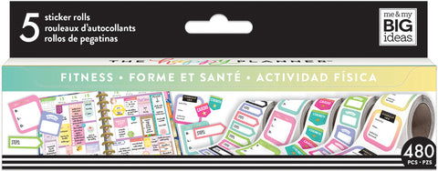 Happy Planner Sticker Roll Fitness