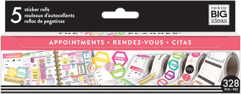Happy Planner Sticker Roll Appointments