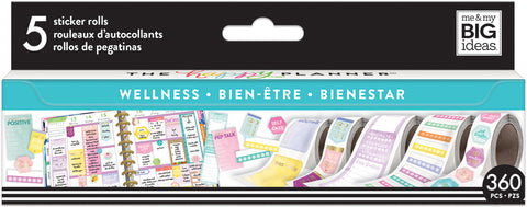 Happy Planner Sticker Roll Wellness