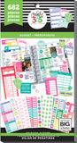 Happy Planner Sticker Value Pack Budget Fill-In 682pk