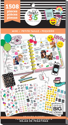 Happy Planner Sticker Value Pack Mini Icons 15 8pk