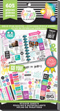 Happy Planner Sticker Value Pack Gold Star Quotes 605pk